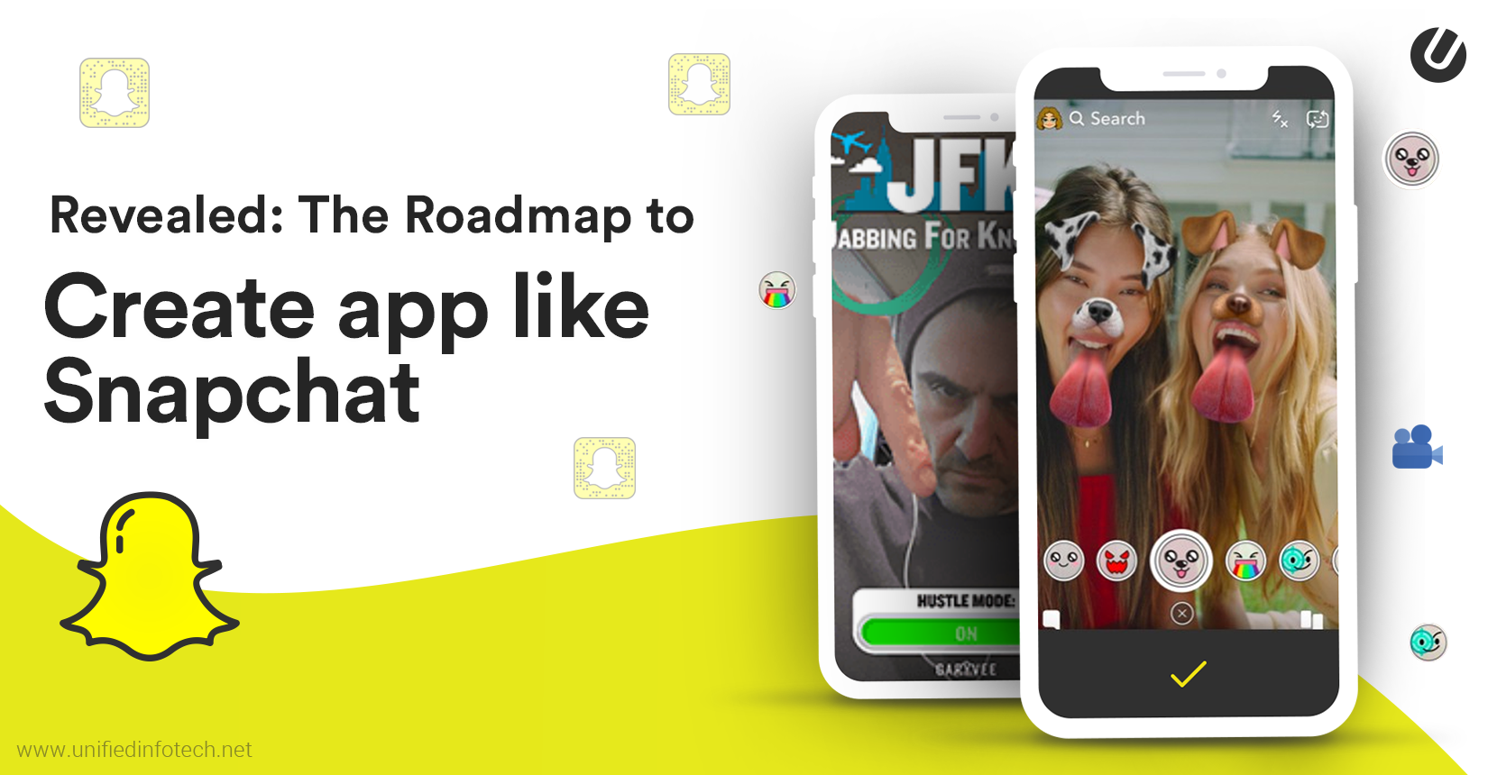 How to Develop An App Like Snapchat for Android and iOS The Easy Way