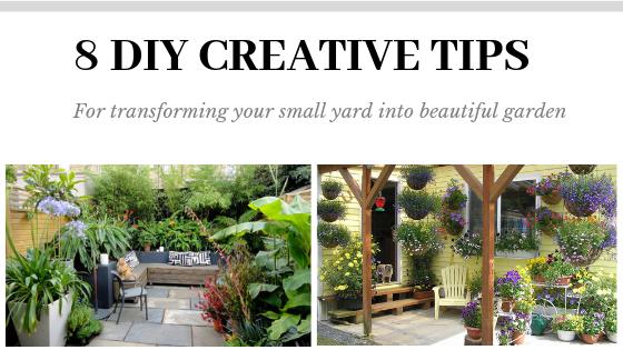 Easy Diy ideas for small garden