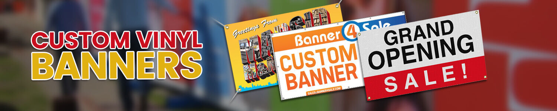 Custom vinyl banners|Custom lettering decals|219signs