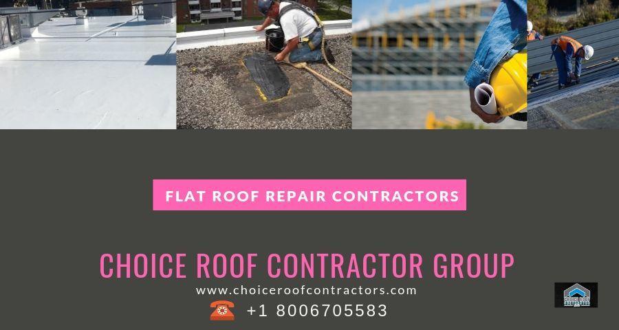 Flat Roof Repair Contractors