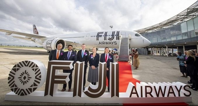 Fiji Airways receives first of two Airbus A350-900 aircraft from DAE  Aircraft Manufacturers