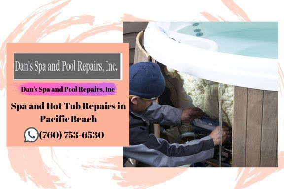 Spa and Hot Tub Repairs in Pacific Beach