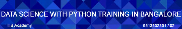 Best training institute in Bangalore for Data science with Python course