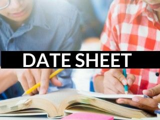 CBSE 12th Date Sheet 2019- Class 12th Board Exam Dates for Science