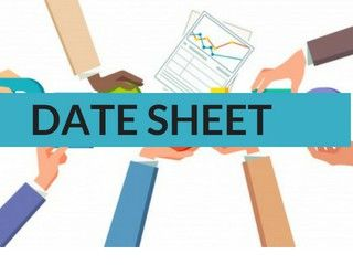 UP Board 10th Date Sheet 2019 - UP Board High School Scheme 2019