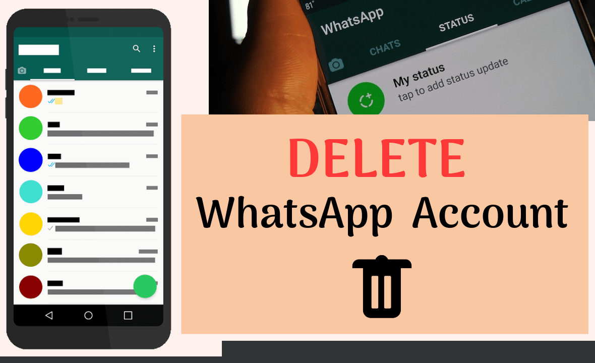 How to Deactivate WhatsApp Account Permanently on Android