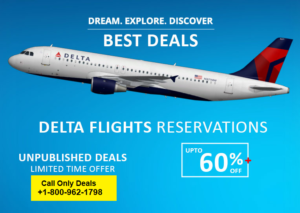 Delta Airlines Booking +1-800-962-1798