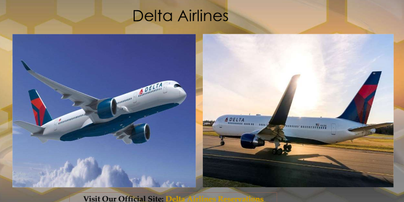 Book Tickets With Delta Airlines Reservations