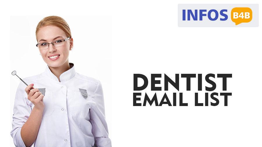 Dentist Email List | Dentist Mailing List | Dentist Email Addresses