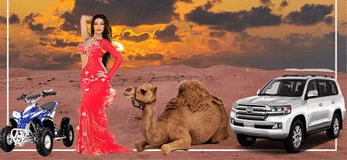 Desert Safari Dubai   Morning Desert Safari - LuxuryArabianTours