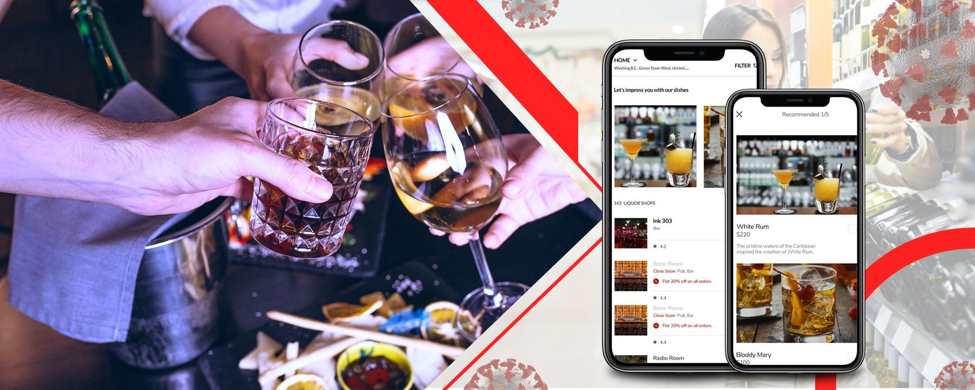 Build alcohol delivery app