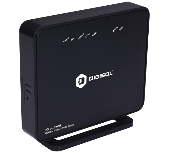 DG-VG2300N , 300 Mbps Wireless VDSL Router - DigisolDigisol