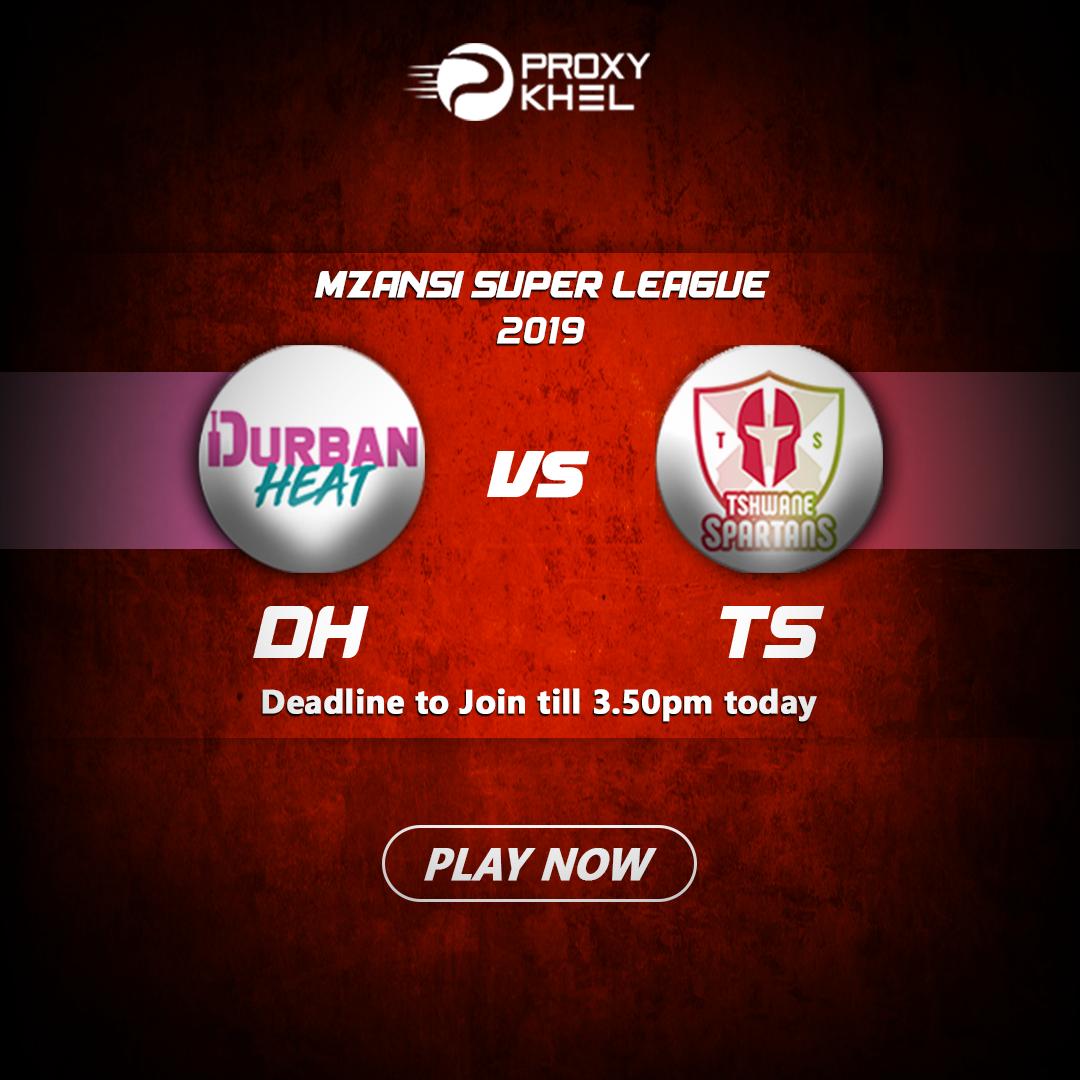 DH vs TS Match 02 Mzansi Super League | Proxy Khel Predictions.