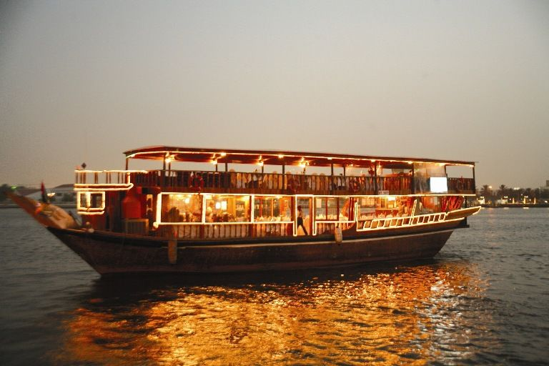 Dhow Cruise Dubai | Dhow Cruise Dinner UAE | Adventure Safari Tour