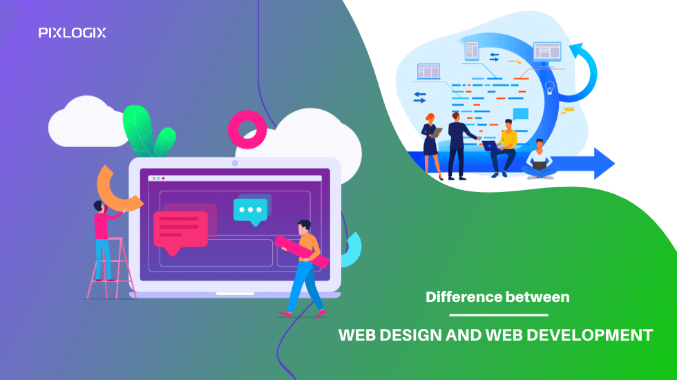 Difference between web design and web development explained