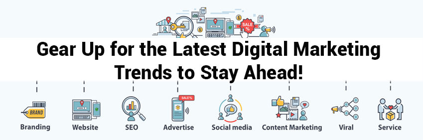 Gear Up for the Latest Digital Marketing Trends to Stay Ahead! | IKF