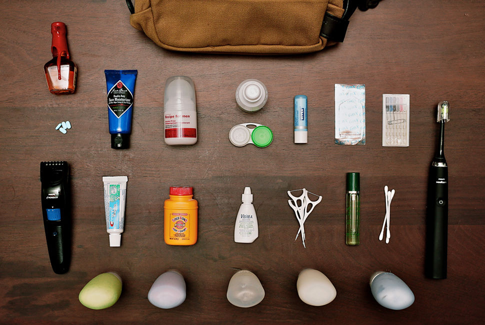 Men's Toiletry Kits Review by Richard Dixon