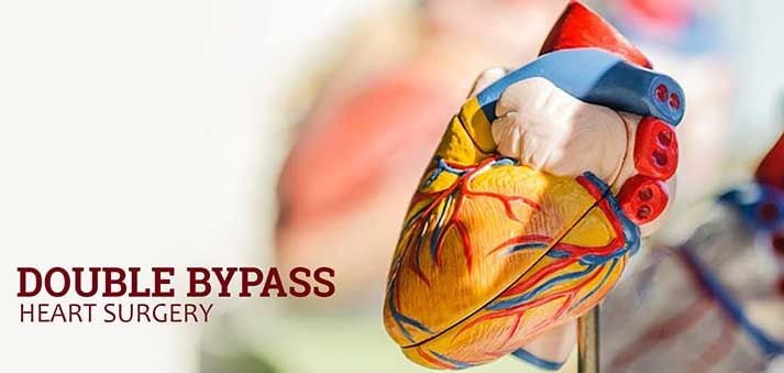 double bypass heart surgery in India