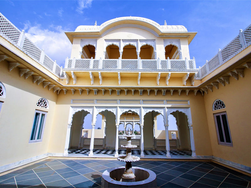 Best Heritage hotels of Rajasthan - Tourist Palaces of Rajasthan
