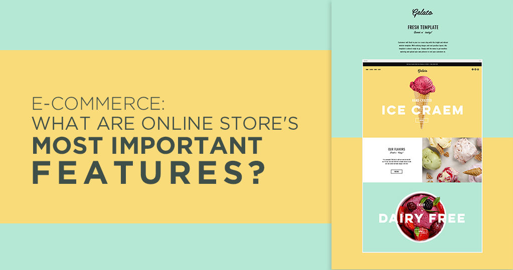 Ecommerce: What are the Online Store's most Important Features?