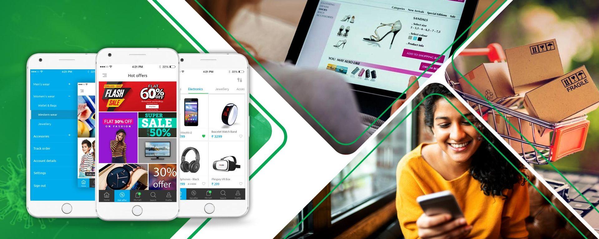Launch E-commerce & Niche Delivery Apps to Overcome COVID-19 Lockdown