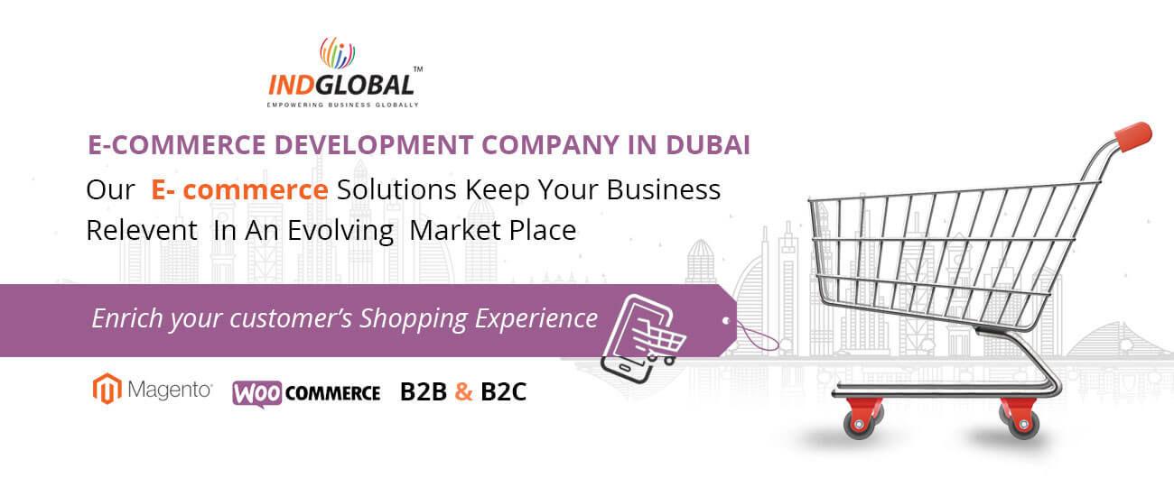 Ecommerce website development, E-commerce web Design Dubai | Indglobal