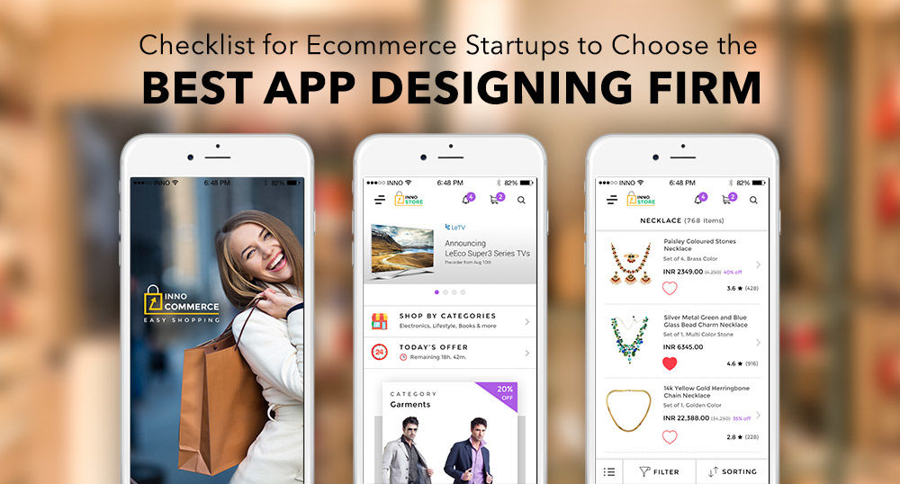Tips to build ecommerce app designs - Innofied