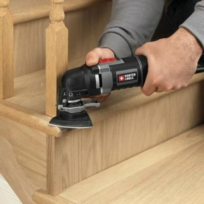 Porter-Cable Corded Oscillating Multi-Tool Kit Features