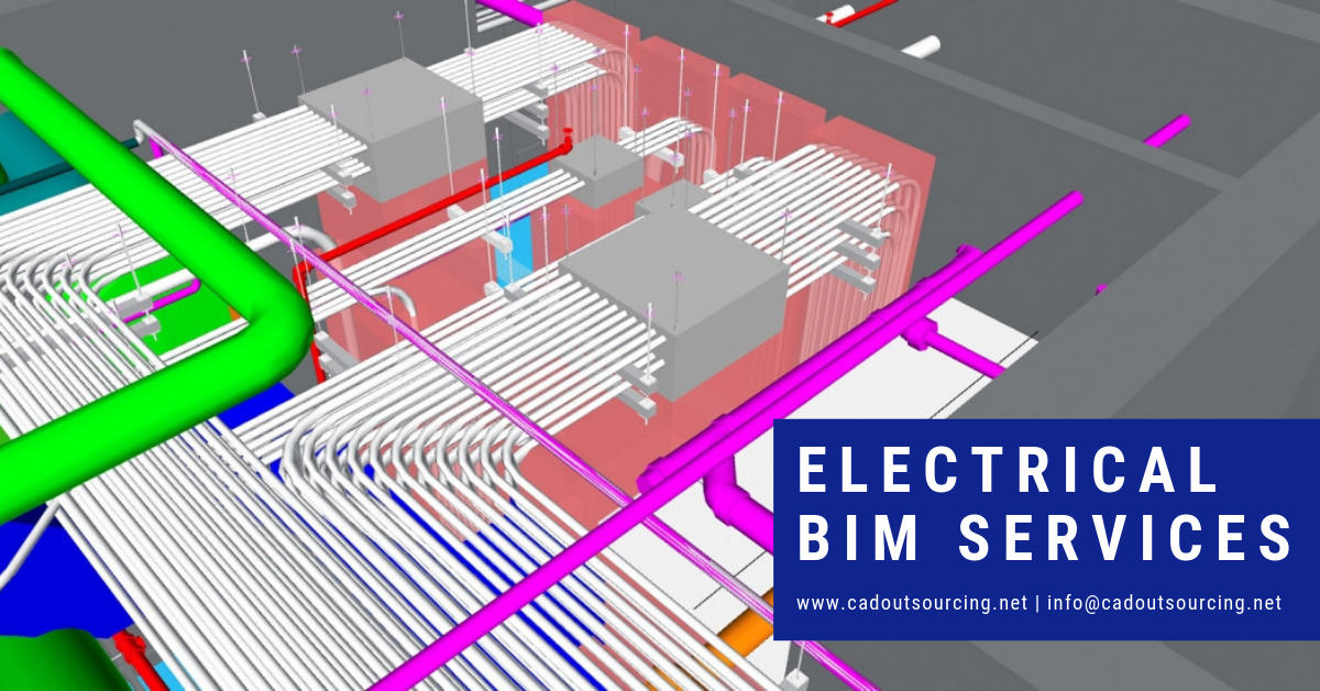 electrical bim services - cad outsourcing