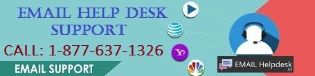 Call our experts at Email Help 1-877-637-1326 Desk