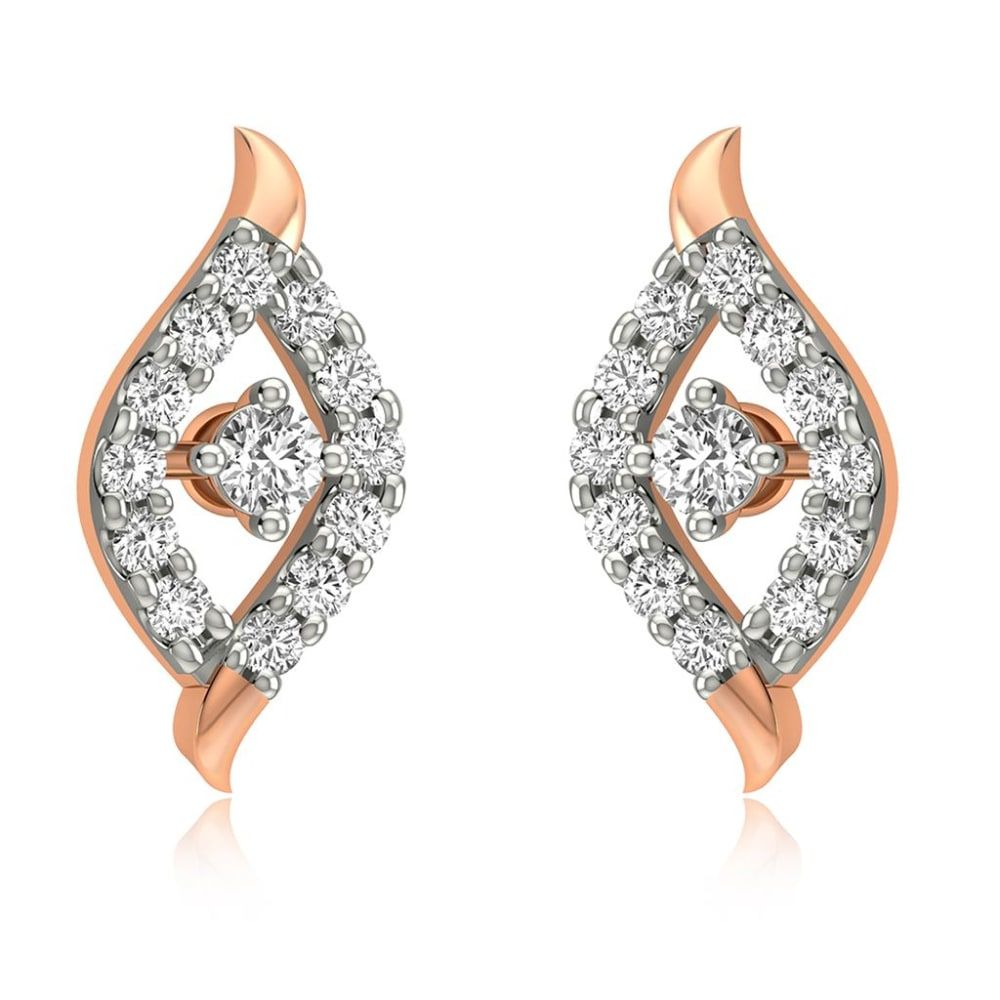 Buy Diamond Earrings Designs Online Starting at Rs.6629 - Rockrush India