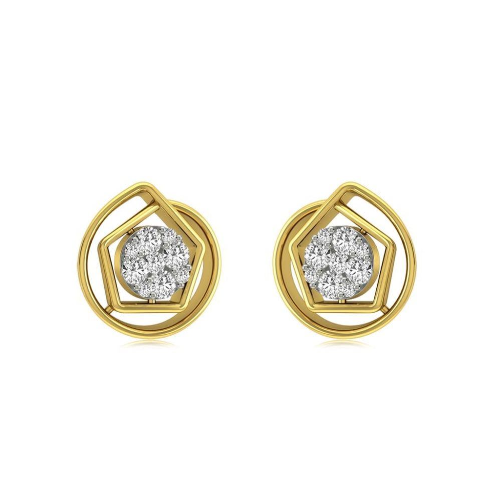 Buy Studs Earrings Designs Online Starting at Rs.8527 - Rockrush India
