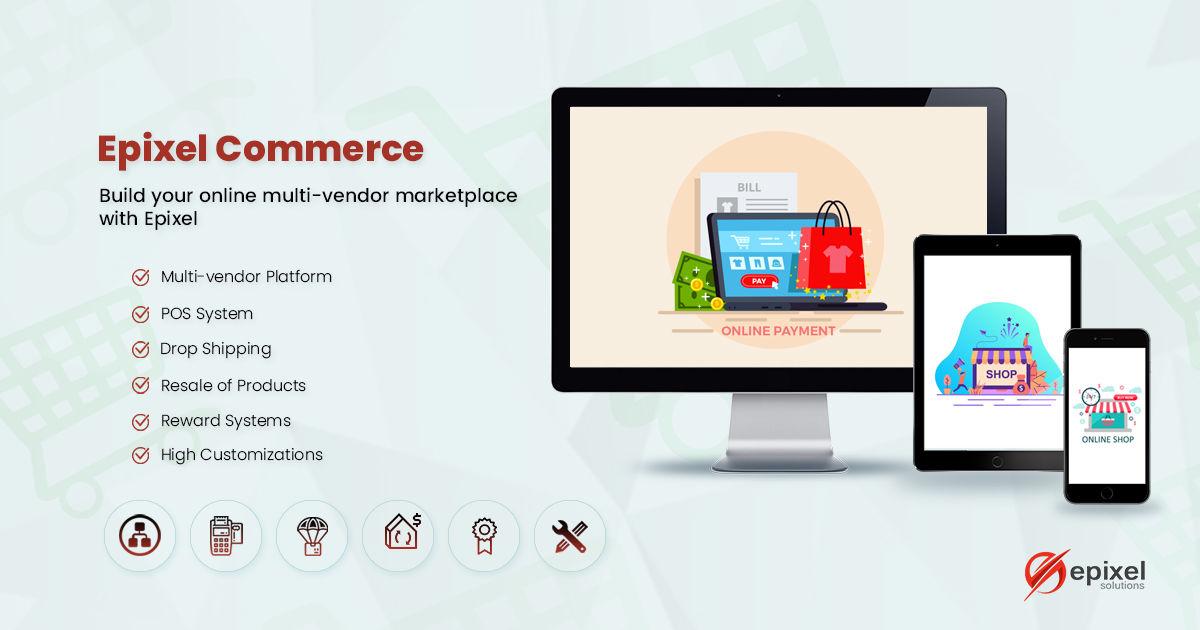 Epixel multi-vendor shopping cart software