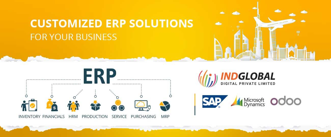 Best ERP Software Development Company in Dubai UAE| Indglobal