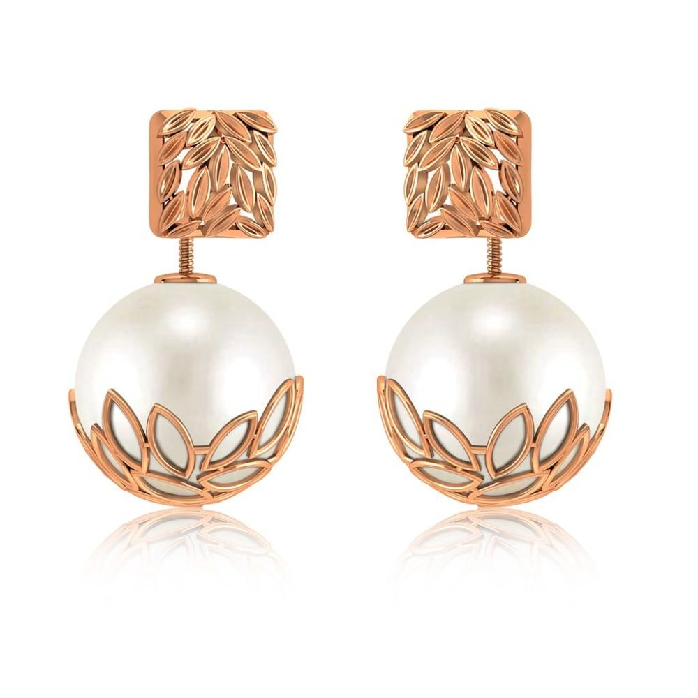 Buy Front Back Earrings Designs Online Starting at Rs.15149 - Rockrush India