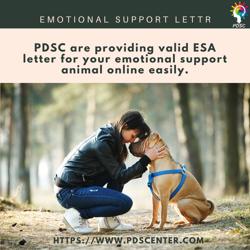 Why an ESA letter is must for you and how to get it? | ESA letter | PDSC