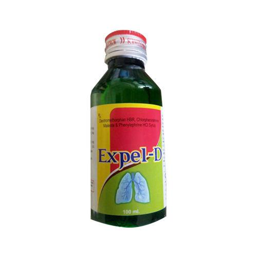 Expel-D Syrup, Dextromethorphan Hbr Phenylephrine Hcl Chlorpheniramine Maleate Syrup - Schwitz Biotech