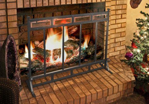 Modern Fireplace Screen – Sleek And Elegant