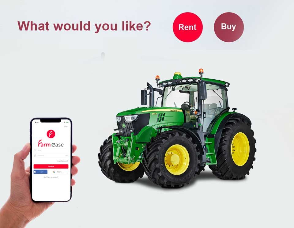 rent a tractor
