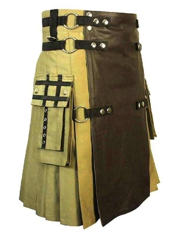 Fashion Tactical Hybrid Kilt - Men Custom Made Fashion Kilts