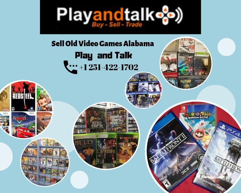 Sell Old Video Games Alabama