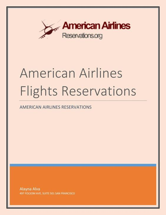 Interesting Facts You Don't Know About American Airlines Flights Reservations