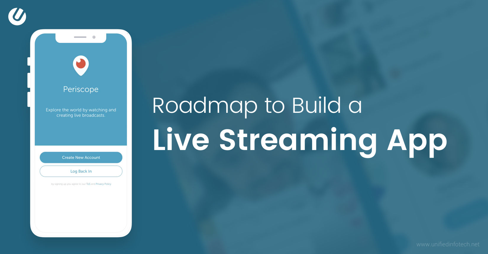 How to Build A Live Streaming App | Unified Infotech