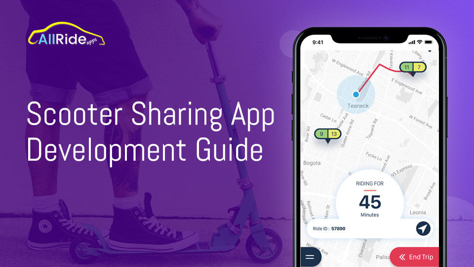 Scooter Sharing App Development - All You Need To Know - AllRide Apps