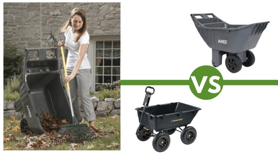 A Wheelbarrow VS A Gorilla Cart