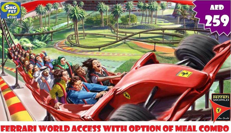 Yas Waterworld and Ferrari World Ticket Combo Offer - Shofey