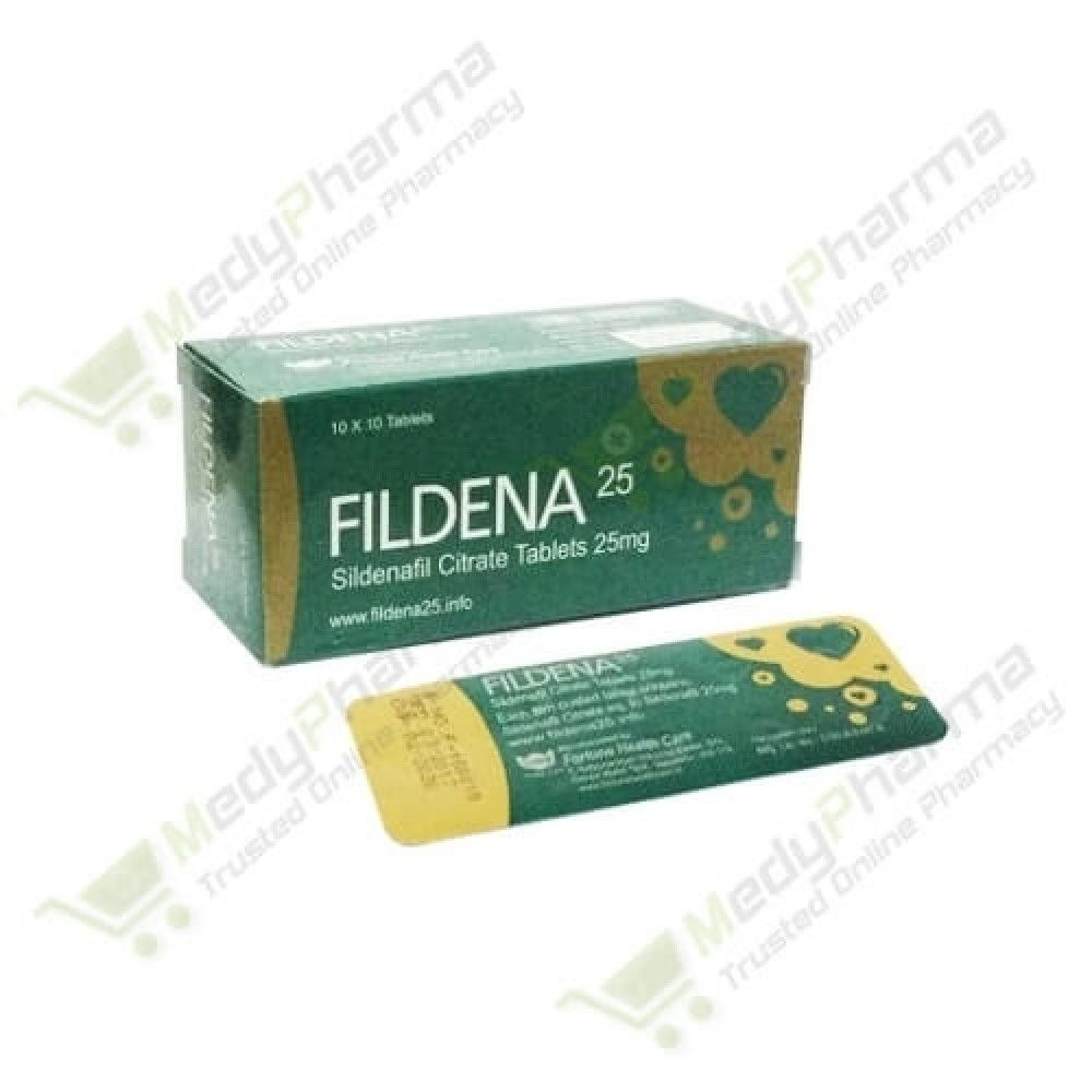 Buy Fildena 25mg Online, Fildena 25 Reviews , price ,  | Medypharma