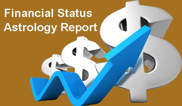 Financial Status Astrology Report