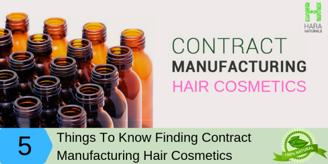 How to Choose Best contract manufacturing Hair Cosmetics?
