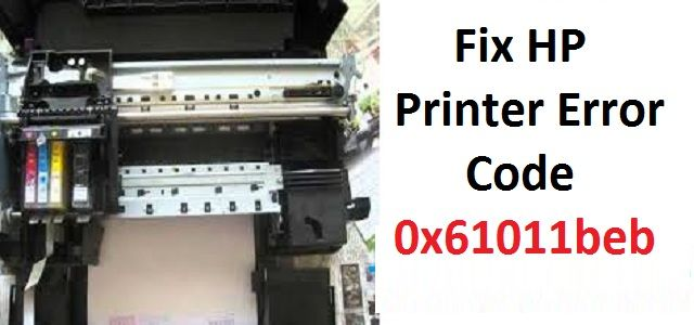 Step to Fix HP Printer Error Code 0x61011beb